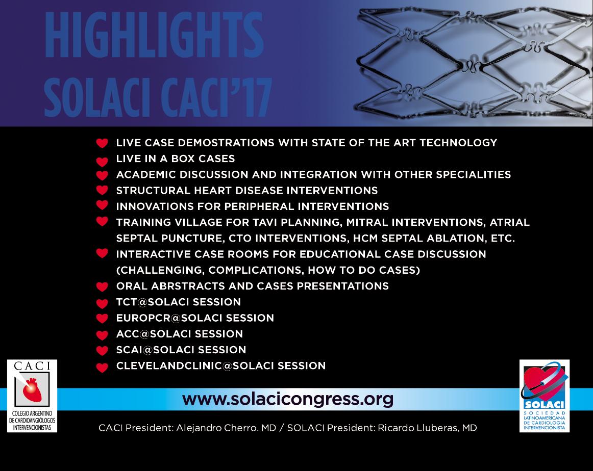 SOLACI CACI 2017 highlights