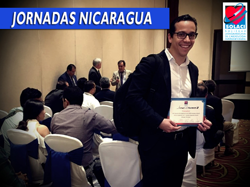 El Dr. Jorge Chavarría fue el ganador del Concurso de Imágenes de las Jornadas Nicaragua 2017
