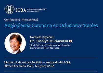 Angioplastia coronaria en oclusiones crónicas - Conferencia Internacional
