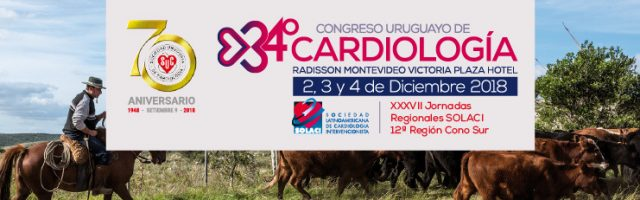 34° Congreso Uruguayo de Cardiología