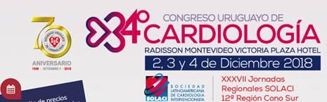 34 Congreso Uruguayo de Cardiología