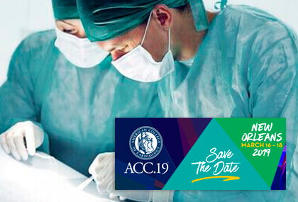 ACC 2019 | PARTNER 3: TAVI en bajo riesgo con menos eventos al año que la cirugía