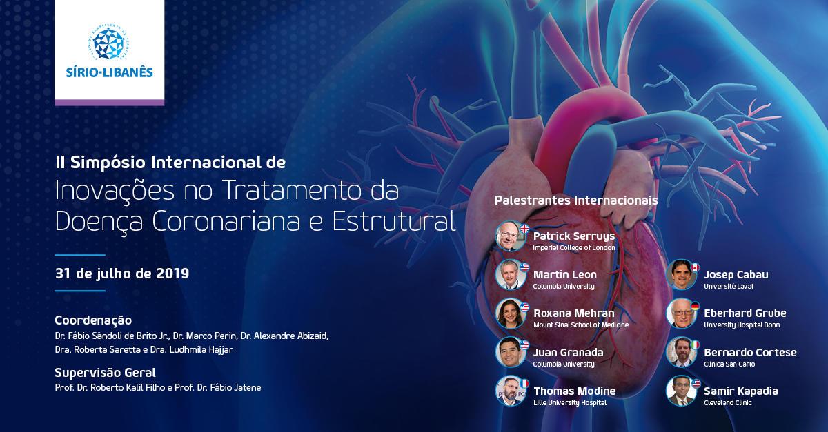 II Simposio Internacional de Innovaciones en el Tratamiento de las Enfermedades Coronarias y Estructurales