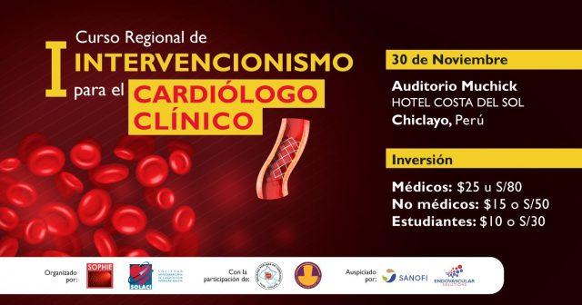 I CURSO REGIONAL DE INTERVENCIONISMO PARA EL CARDIOLOGO CLINICO