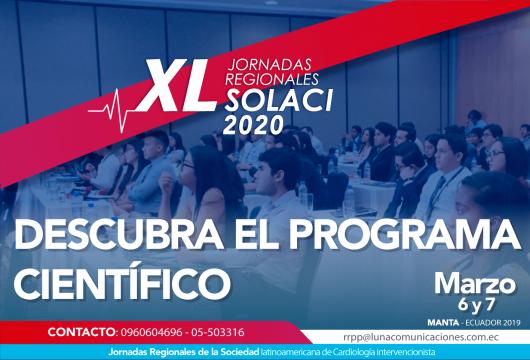 Descubra el programa científico de las Jornadas Ecuador 2020