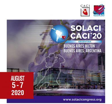 Reserve la Fecha: En agosto llega el Congreso SOLACI-CACI 2020