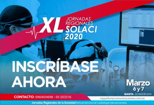 Inscríbase Jornadas Ecuador 2020