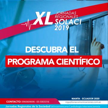 Programa Científico Jornadas Ecuador 2020