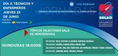 Jornadas Virtuales Honduras | Tópicos selectosen sala de Hemodinamia