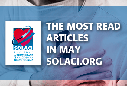 Most read scientific articles of may in interventional cardiology