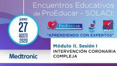 3° Encuentro Educativo ProEducar - Intervención Coronaria Compleja