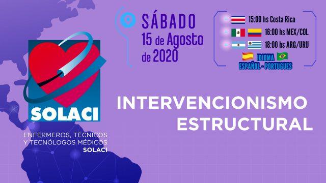 Webinar SOLACI | Intervencionismo Estructural