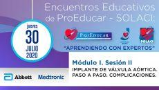 2 Encuentro Educativo ProEducar | Implante de Válvula Aórtica