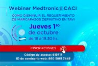 Webinar CACI | Disminución de Marcapasos TAVI