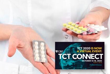 TCT 2020 | Administrar el comprimido de prasugrel molido previo a la angioplastia