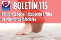 Boletín 115 ProEducar: Isquemia Crítica de Miembros Inferiores