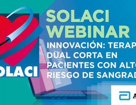 Webinar SOLACI   Innovación terapia dual corta en pacientes con alto riesgo de sangrado