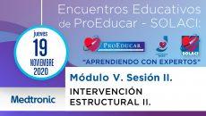 10 Encuentro Educativo ProEducar - Intervención Estructural II