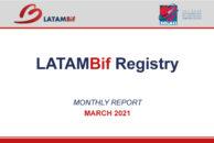 Registro LATAM Bif - Reporte Mensual Marzo