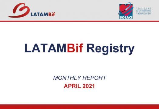 Reporte Mensual LATAM Bif, ABRIL 2021