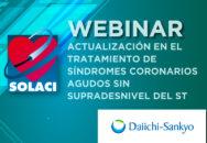 Actualización en el tratamiento de síndromes coronarios agudos sin supradesnivel del ST